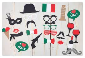 Photo Booth Accessories Italian Italy Photo Booth Props Photoboothprops Nl Italian Hen