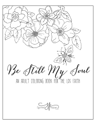 spotted pepper designs be still my soul a coloring book