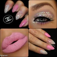 142 best pink nail designs images on pinterest pink nail designs