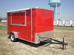 Cargo Trailer Awning Buy U0026 Sell New U0026 Used Trailers Red 6x12 Concession Trailer W