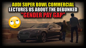 audi commercial video audi super bowl commercial lectures us about the debunked
