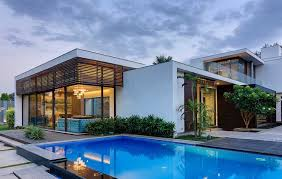 2 house with pool delhi villa with amazing courtyard and water features