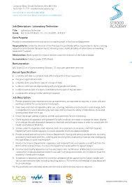 medical lab technician cover letter associate executive director