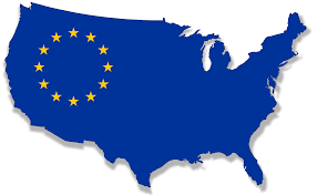 map of the united states and europe thefreebiedepot maps world