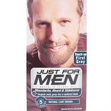 just for men light brown just for men m25 moustache beard and sideburns light brown