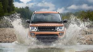 tan land rover premium off road suv discovery landmark land rover uk