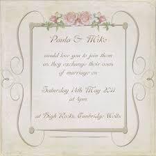 vintage style wedding invitations vintage wedding invitation postcard vintage wedding