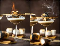 white chocolate peppermint martini toasted smore martini the cookie rookie
