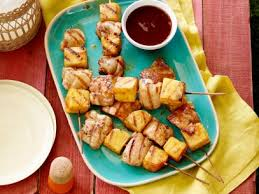 chicken and pineapple skewers recipe tyler florence food network