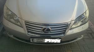 lexus cars price in dubai used lexus es 350 4 door 3 5l 2011 car for sale in dubai 707265