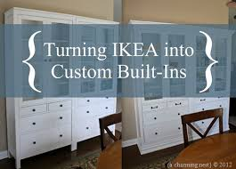 Built In Bookshelves Around Tv by A Charming Nest Turning Ikea Into Custom Built Ins Part Ii