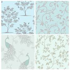 duck egg blue teal wallpaper owl bird peacock scroll tree duck egg blue teal wallpaper owl bird peacock scroll tree designs