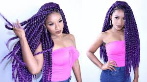 crochet twist hairstyle havana twist crochet braids invisible method youtube