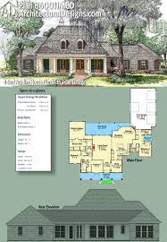 plan 860011mcd 4 bed acadian house plan with 3 car garage car