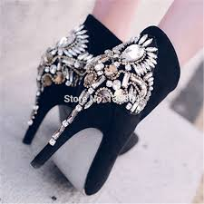 womens dress boots sale 2017 fashion pumps shoes rhinestone high heels