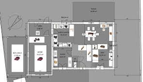 plan de maison avec cuisine ouverte avis sur plan maison rdc 1 107m2 hors cellier 16 messages