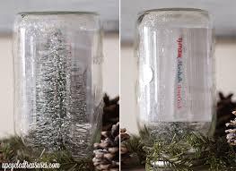 gift card snow globe diy jar snow globes mountainmodernlife