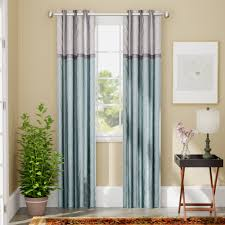 curtain rods for bow windows bay window treatment ideas inch curtains drapes you love wayfair