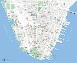 downtown manhattan map lower manhattan map mappery
