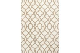 63x91 rug reece trellis beige living spaces