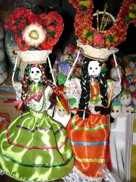 Day of the Dead decorations San Luis Potosi Mexico