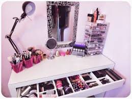 my makeup obsession my dressing table setup the ikea malm