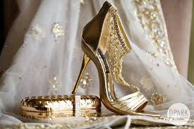 wedding shoes in sri lanka chathri asif s gloriously pink sri lankan wedding gold shoes