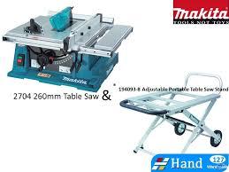 makita portable table saw makita table saw 2704 with stand 194093 8 trade me
