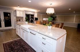 Soft White Kitchen Cabinets Starmark Marshmallow Cream Cabinetry Silestone Quasar And Kohler