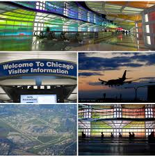 Chicago Ohare Terminal Map by Car Rental Chicago O Hare Terminal 3 Map Chicago O Hare Ord