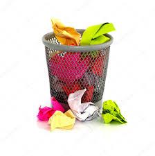 paper in waste basket u2014 stock photo compuinfoto 9767231