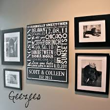 Words To Decorate Your Wall With by Canvas Wall Art With Words