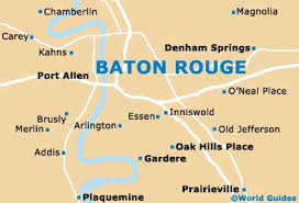 map of baton baton maps and orientation baton louisiana la usa