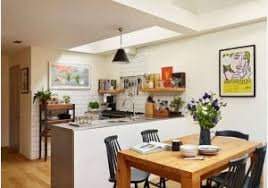 open plan kitchen diner ideas small open plan kitchen and living