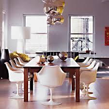 sedie tulip knoll chaise contemporaine pivotante avec accoudoirs 礬colabel