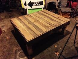 diy square coffee table diy large size pallet coffee table pallets joy