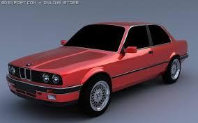 bmw e30 model car bmw e30 3d model in sport cars 3dexport