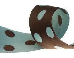 buy ribbon online buy ribbon blue big polka dots ribbon order now renaissance