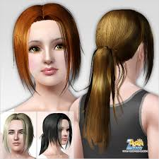the sims 4 cc hair ponytail the sims 3 men s hairstyles free downloads