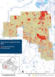 Show Me A Map Of Canada by Tar Sands Threaten World U0027s Largest Boreal Forest World Resources