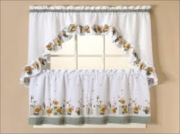kitchen country style curtains valance curtains cafe curtains