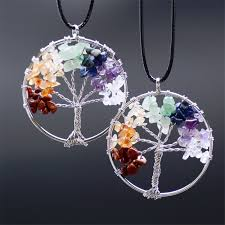 crystal stones necklace images Natural stone chakra crystal pendants necklaces crystal agate jpg