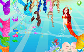 mermaid dress up games free android apps on google play