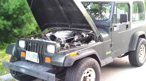 jeep crate 1995 jeep wrangler yj with chevy tbi 350 youtube