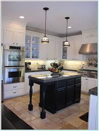 kitchen white cabinets black countertops kitchen grey floor gray