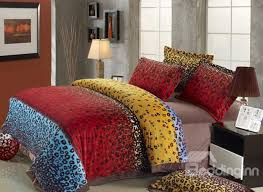 Best Bedding Material All King Size Leopard Bedding Sets On Sale Buy Leopard Bedding