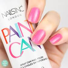 paint can spray nailpolish