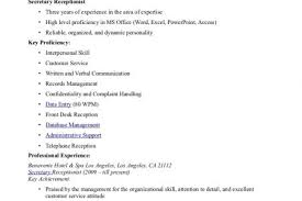 Receptionist Resume Sample No Experience by Receptionist Resume No Experience Receptionist Resume Examples No