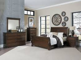homelegance cinderella poster bedroom set dark cherry b1386tppnc