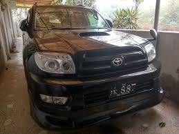 toyota surf car 2003 model cars for sale in pakistan car mania